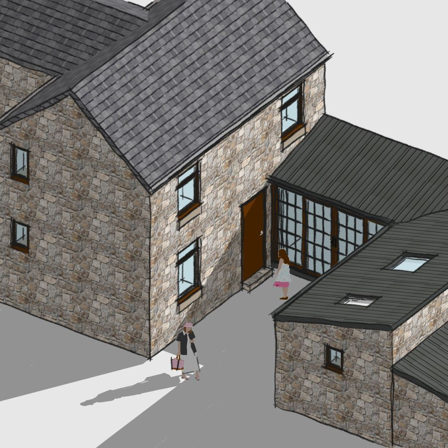 Planning permission granted for annex extension in Middleton, Matlock