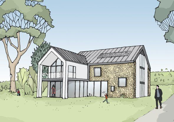 £D visualisation architectural drawings, Matlock.