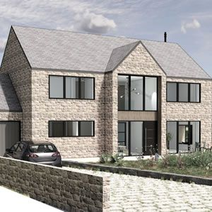View New Build Home, Brackenfield